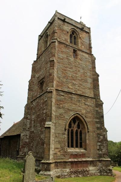 Upton Bishop church tower