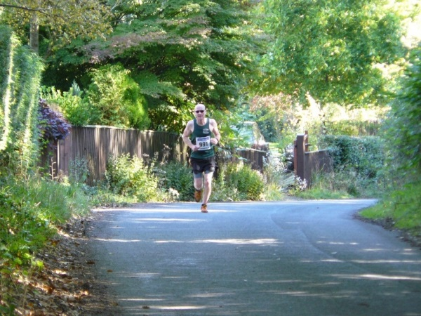 A runner on the Big Dipper route