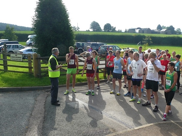 Runners taking part in the Big Dippe