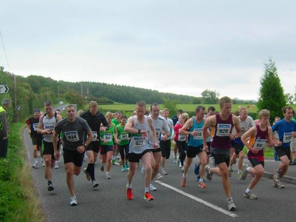 Runners taking part in the 2012 Big Dipper
