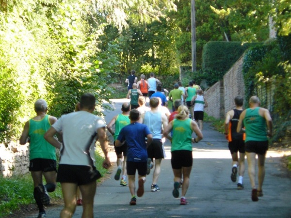 Runners taking part in the Big Dipper